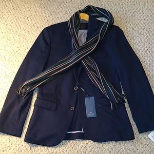 Navy Blazer by Level Ten